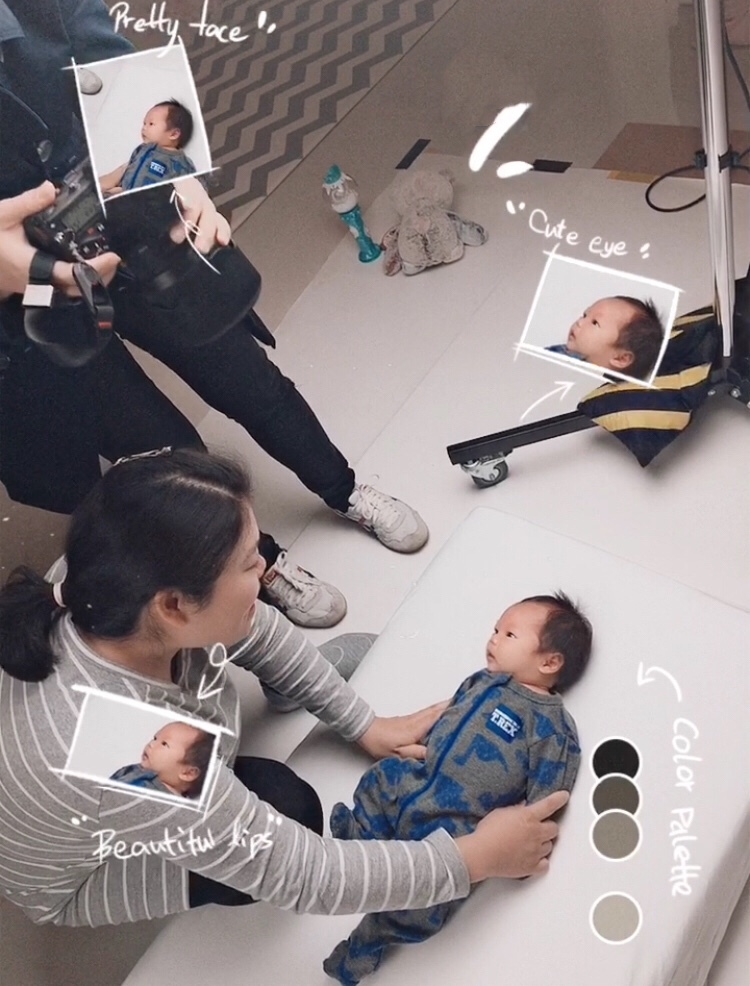 Sydney infant passport photo