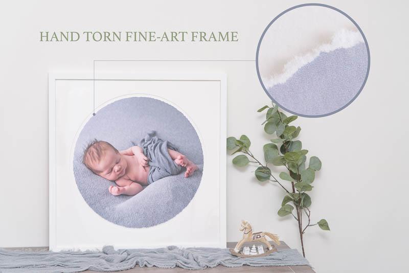 Hand Torn Fine Art Frame