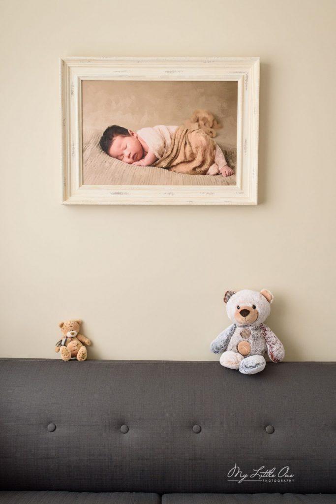 Sydney newborn baby wall art Oil Painting