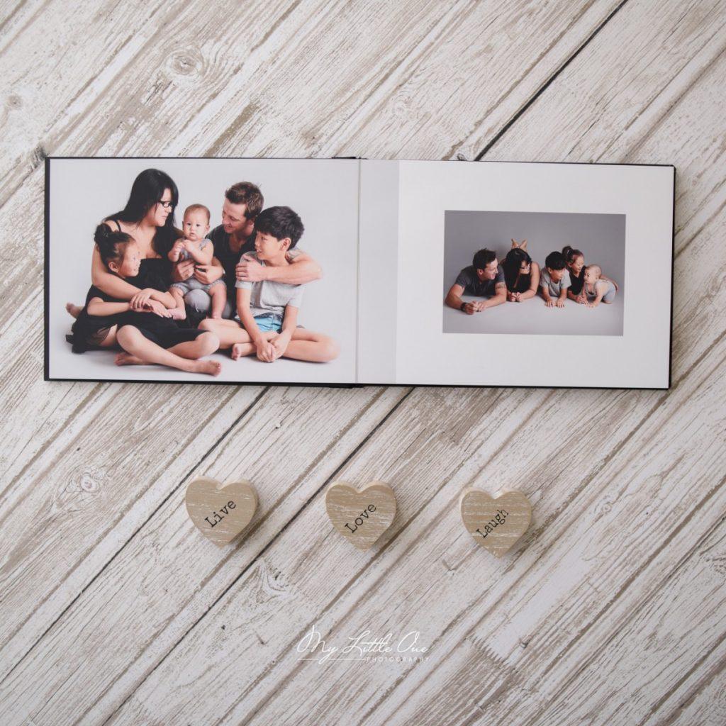 Sydney newborn baby story book album